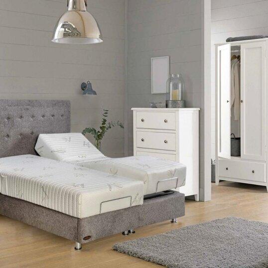 מיטה מתכווננת u-comfort